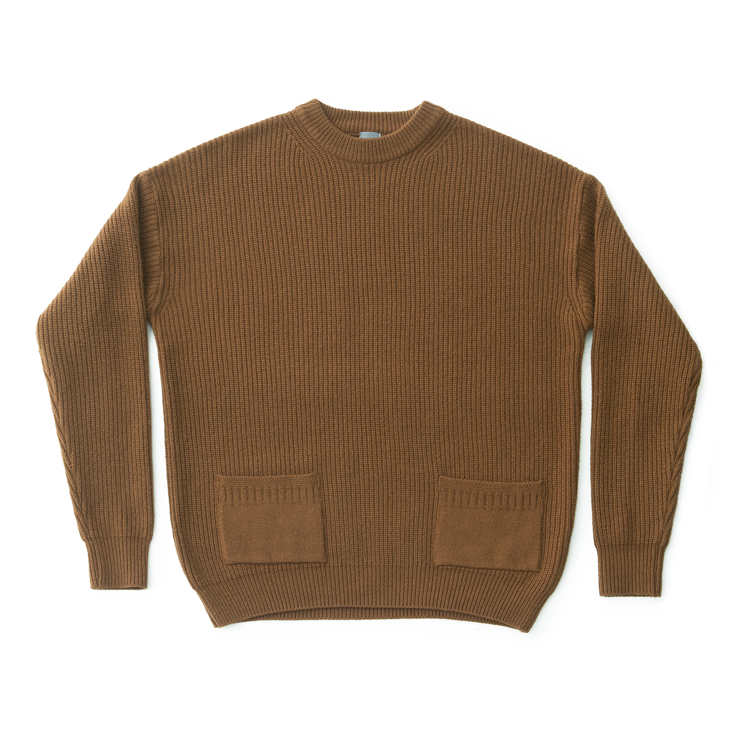 Ample Knit Pullover (Chestnut)