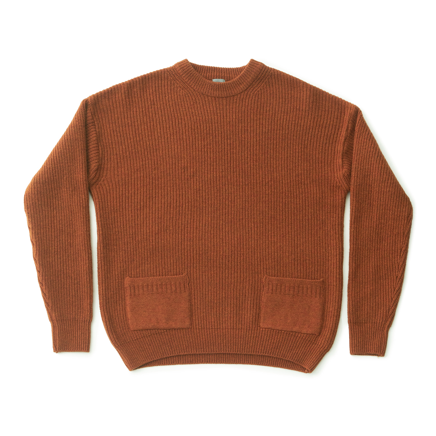 Ample Knit Pullover (Carrot)