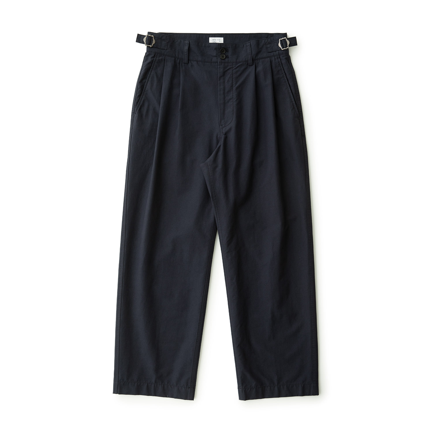 Santiago Doublecloth Pants (Dark Navy)