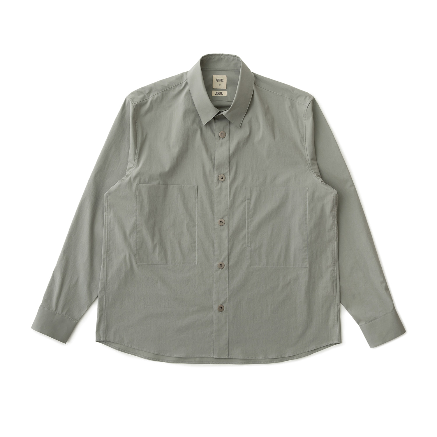 Vast Pocket Shirt (Jade Gray)